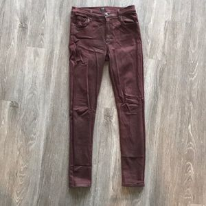 Citizens of Humanity Maroon Jeans
